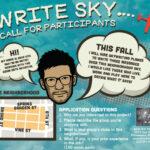 Write Sky poster